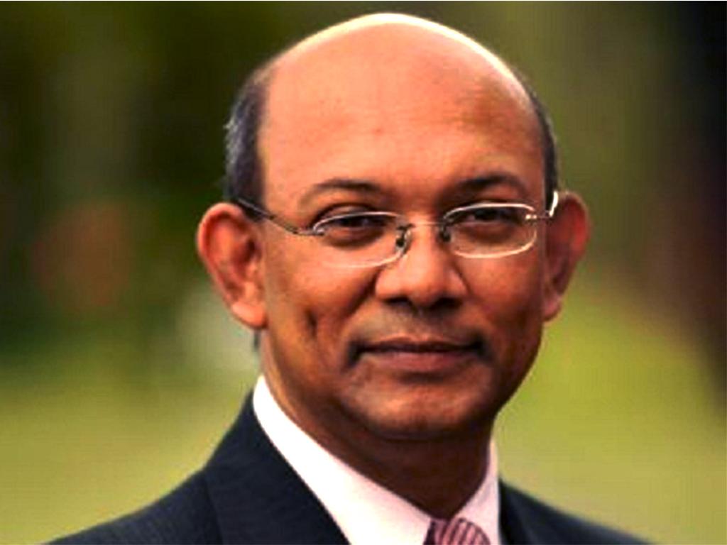 Le ministre mauricien Etienne Sinatambou.