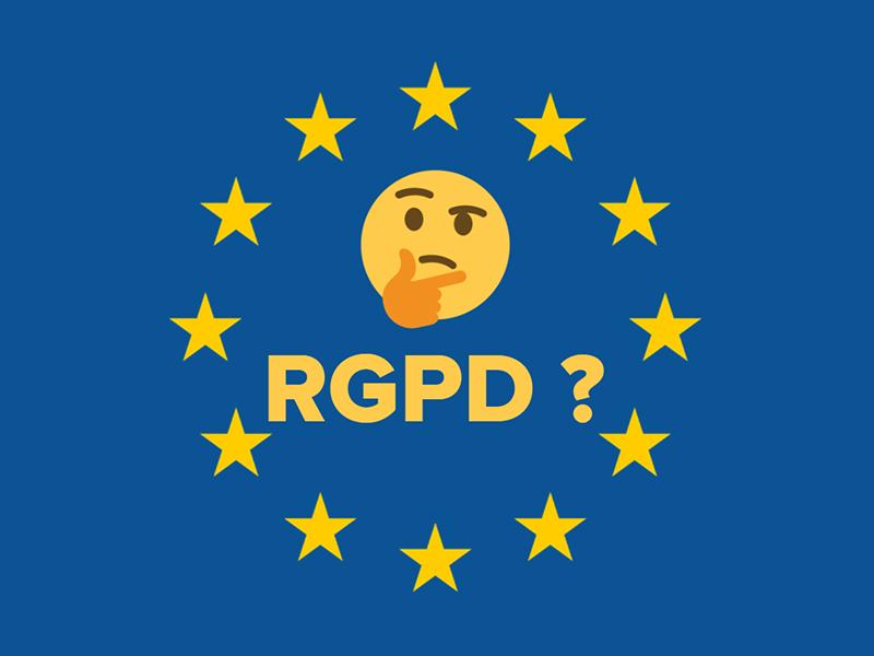 Oyez Oyez, Le RGPD C'est Aujourd'hui!