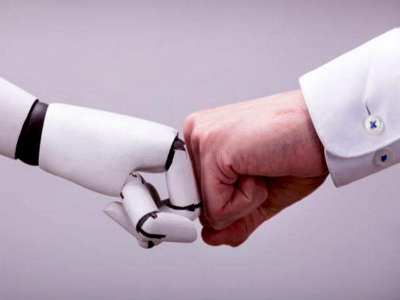 Et Si L'homme Collaborait Avec Les Robots
